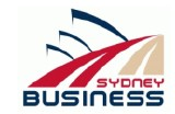 Sydney Business - Education NSW