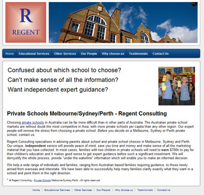 Regent Consulting - Best Private Schools Sydney Perth Melbourne Consulting Services - Education NSW