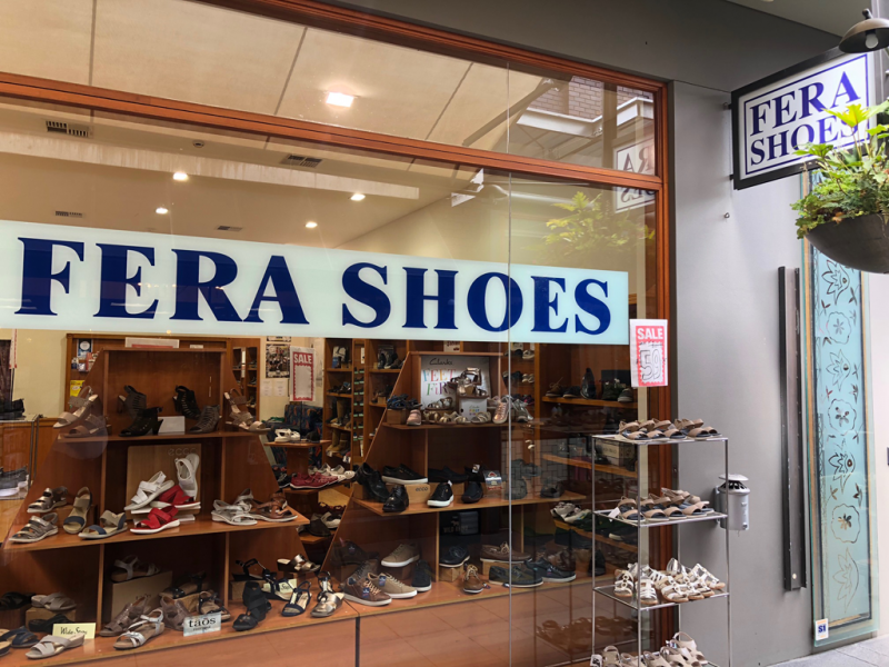 Fera Shoes - Education NSW